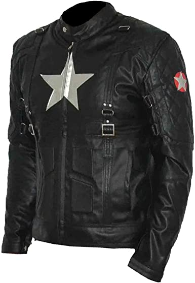 SRHides Mens Fashion Spiderman Moto Jacket