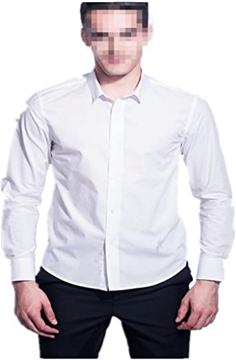 Camisa blanca Caballero Suerte Clásico para Ocasion Formal Manga Larga Apropiado para Traje Formal (XL): Amazon.es: Ropa y accesorios
