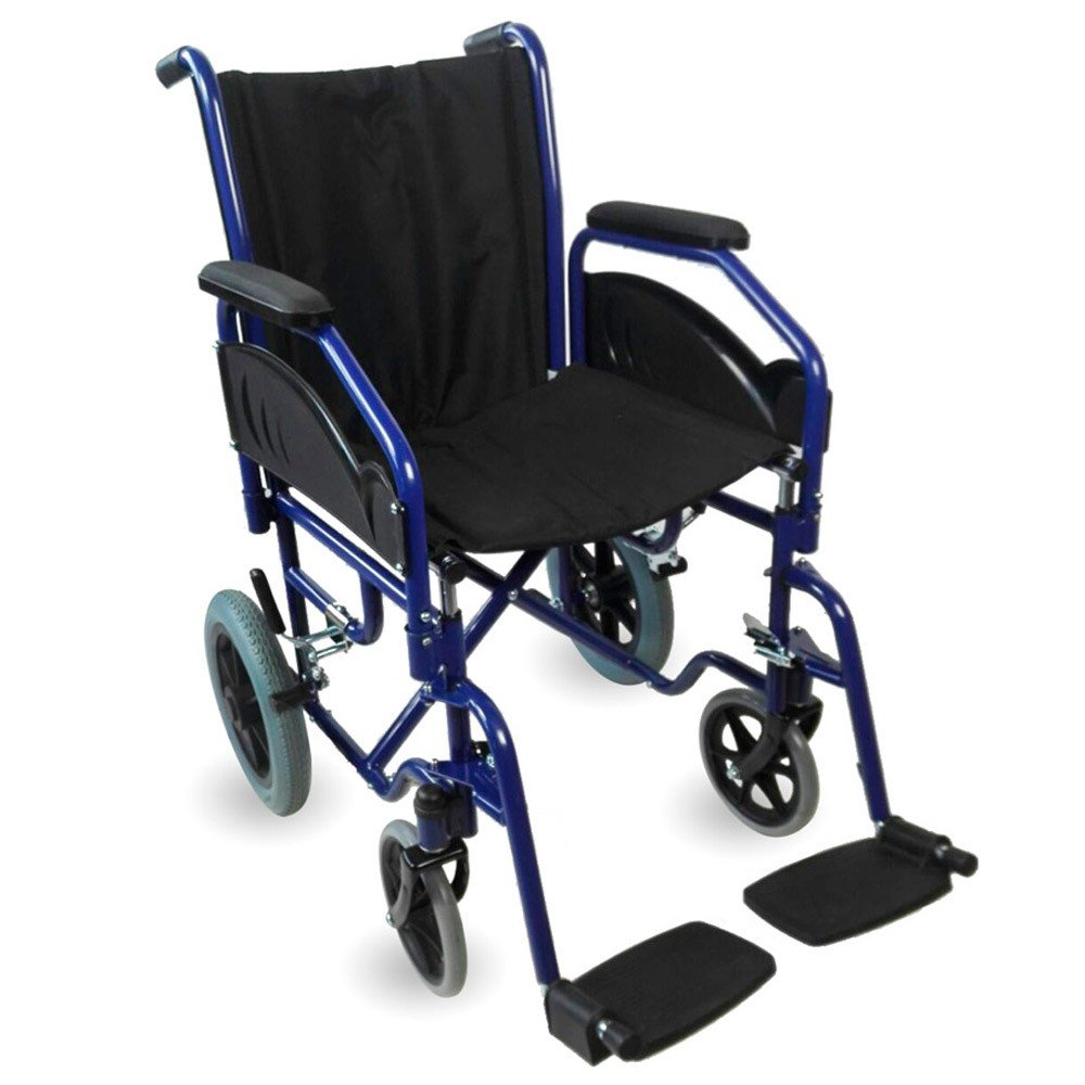 Klappbarer Rollstuhl Rollstuhl Rollstuhl   Herausnehmbare Armlehnen und Füßstütze   Sitzbreite  45 cm   Maximale Belastbarkeit 100 kg   Maestranza Modell   Mobiclinic 6000c0