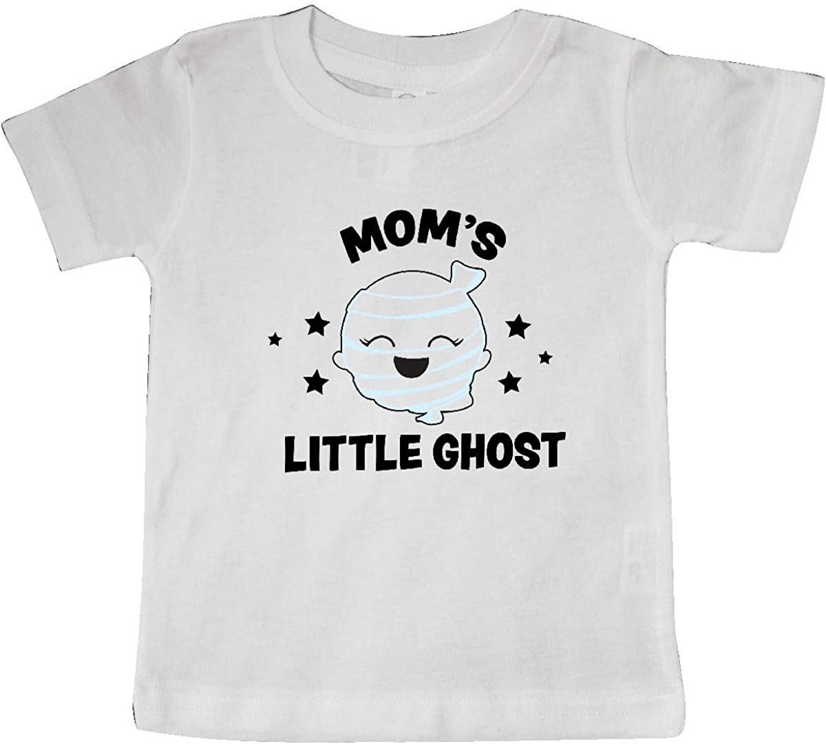 inktastic Cute Moms Little Ghost with Stars Baby T-Shirt