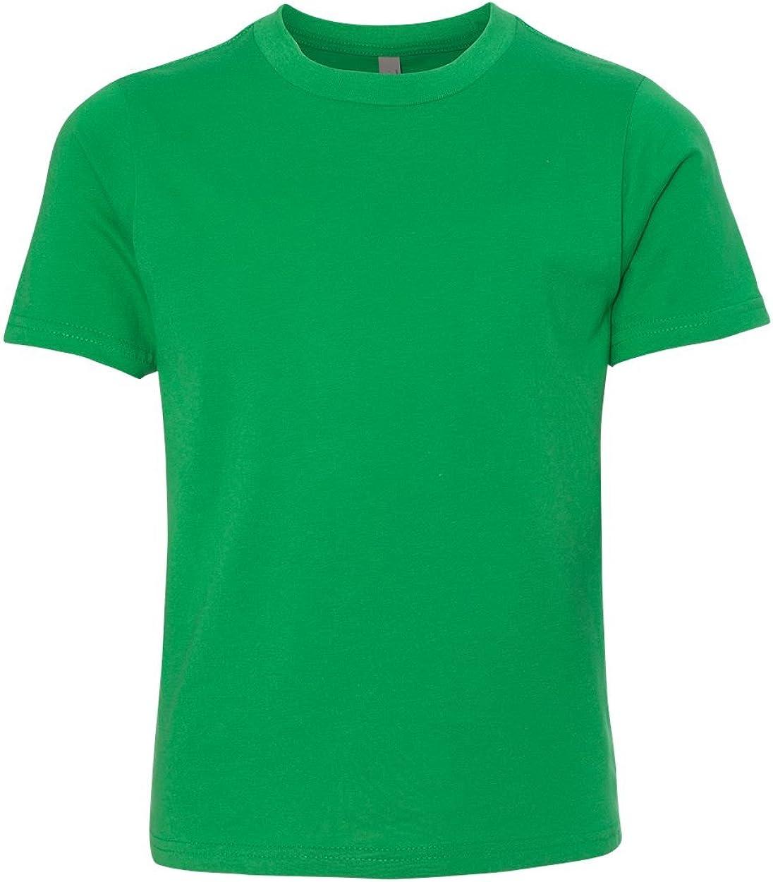 Youth Premium Short Sleeve Crew 3310 Boys/' Girls/' T-Shirt Tee Next Level