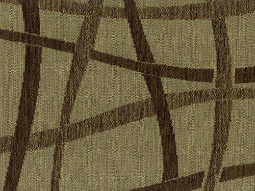 Möbelstoff Taranto Farbe 7 (braun)   Modernes Chenille Flachgewebe  (gemustert, Modern) Polsterstoff, Stoff, Bezugsstoff, Eckbank, Couch, Sessel,  Hussen, ...