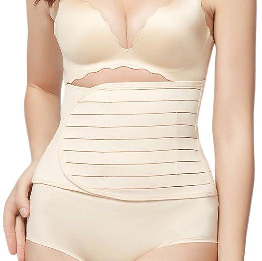 381ed6f000 Women Postnatal Shapewear Recovery Waist Belt Postpartum Support Belly Wrap  (Beige style 01)