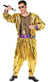 Black Rapper Mc Hammer Pants 80 90S Fancy Dress Costume  Amazon.co ... 45f301745c6