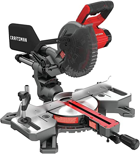 CRAFTSMAN V20 7-1 4-Inch Sliding Miter Saw Kit CMCS714M1