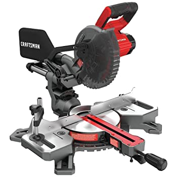 CRAFTSMAN V20 7-1/4-Inch Sliding Compound Miter Saw