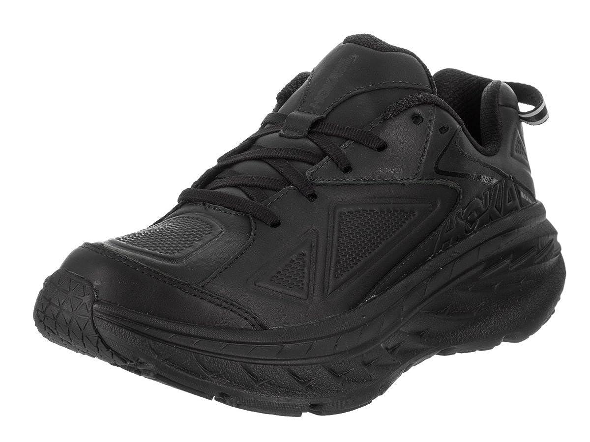 c45950b94521e Amazon.com   HOKA ONE ONE Women's Bondi LTR Black Running Shoe 6.5 ...