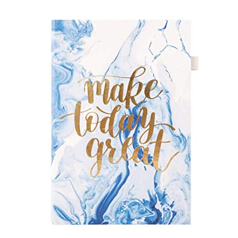 Amazon.com : A5/A6 Daily Planner Notebook 2019 Agenda ...