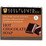 Soulflower Handmade Soap, Chocolate, 150g