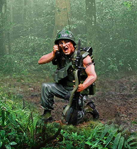 Amazon com: Vietnam War CS00947 U S  Marine PRC77 Radio Man