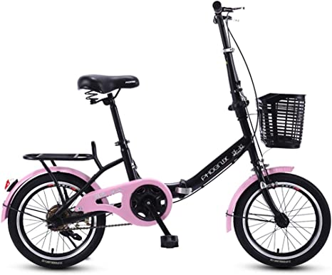 Bxiao Bicicleta Plegable para niños, Bicicleta de Escuela Primaria ...