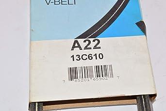 Carlisle A23 Super II Checkmate V-Belt 25.3 Length Width 1//2