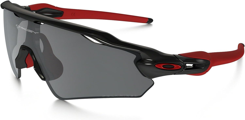 OO9275 06 サイズ OAKLEY (オークリー) サングラス RADAR EV PATH POLARIZED (ASIA FIT) Polished 黒 黒 Iridium Polarized OO9275-06 レーダーパス 偏光レンズ アジアフィット メンズ レディース