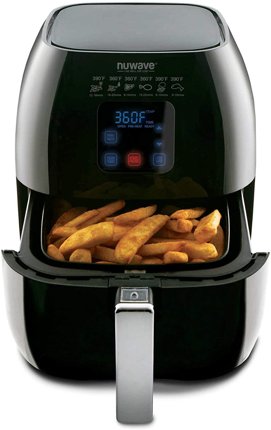 NuWave Versatile Brio Air Fryer with One-Touch Digital Controls