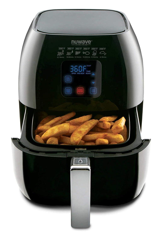 NuWave Versatile Brio Air Fryer with One-Touch Digital Controls 33201
