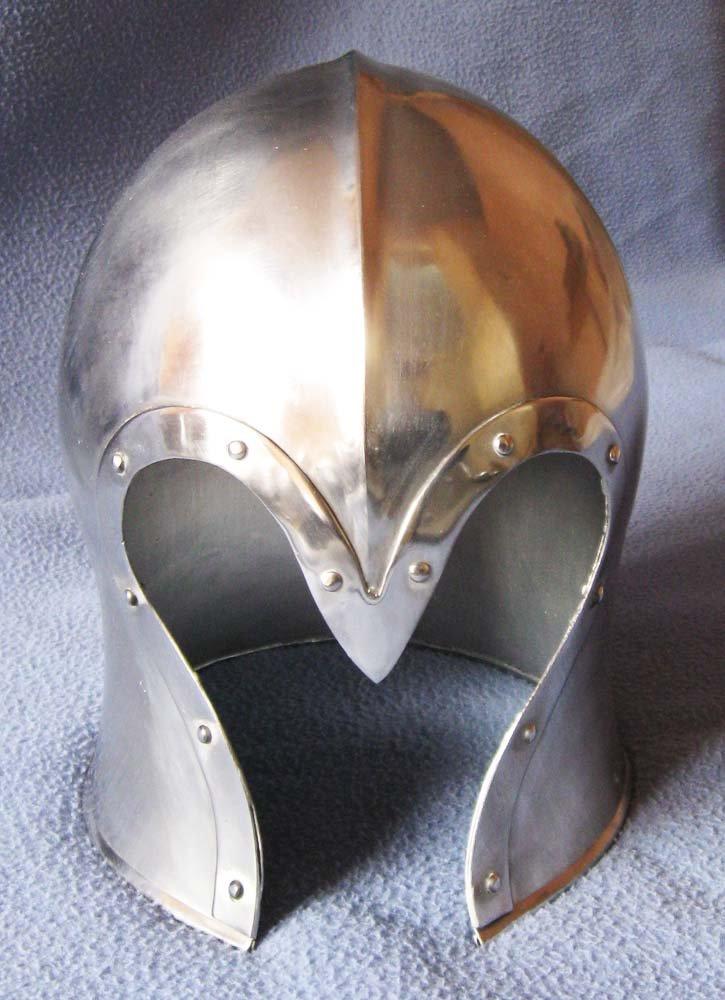 ofrecemos varias marcas famosas Shiv Shakti empresas empresas empresas Armour Medieval Barbuta Barbuta Wearable casco Armor disfraz réplica  liquidación hasta el 70%