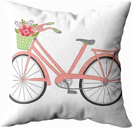 koniqiwa Funda de Almohada para el hogar, Cesta Floral para ...