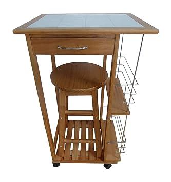 1 seater breakfast bar set folding kitchen table stool drawer tile rh amazon co uk small folding kitchen tables uk folding kitchen island work table uk