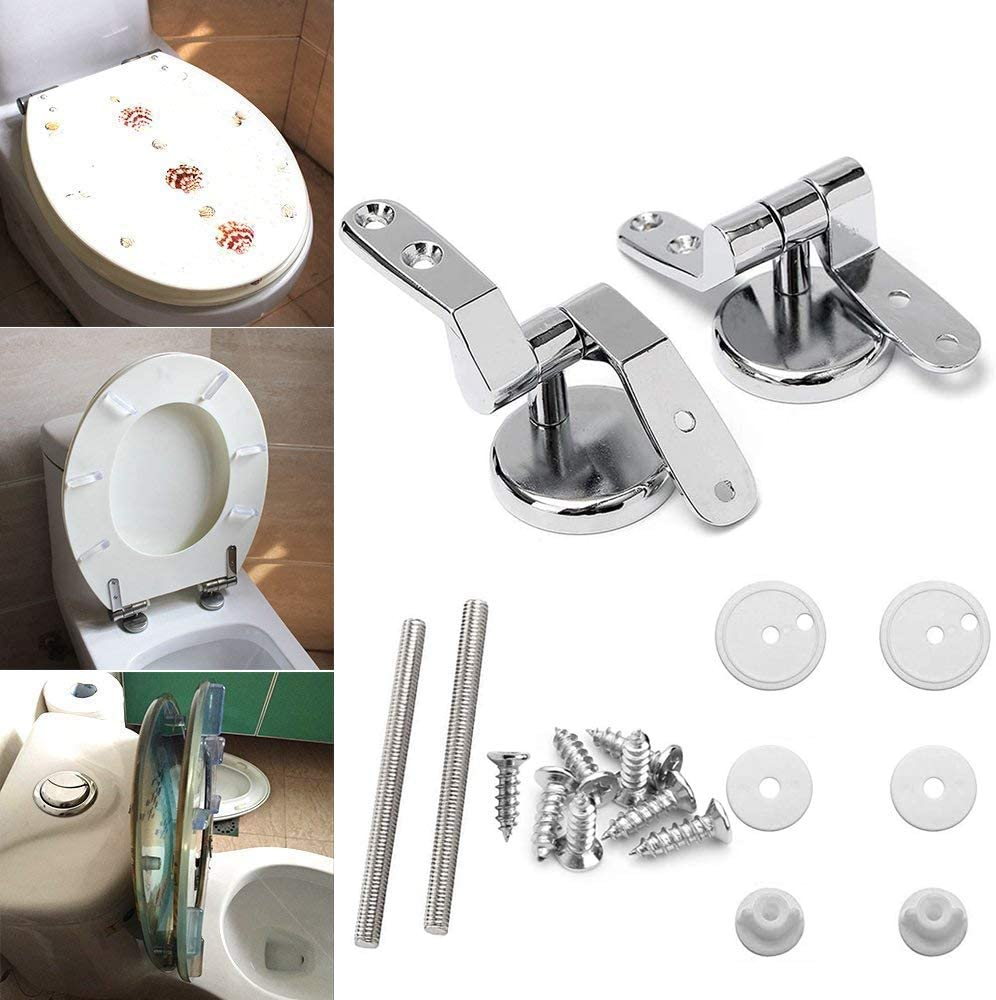 Toilet Seat Hinges Universal Stainless Steel Replacement S12