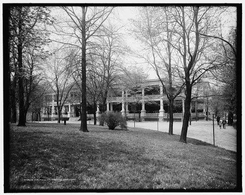 Photo: Pavilion,zoo,sports,recreational facilities,buildings,Cincinnati,Ohio,OH,1900
