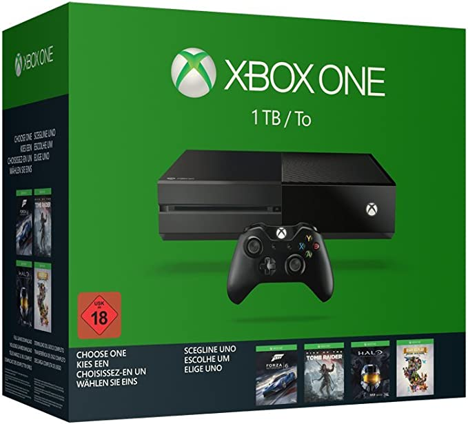 Xbox One 1TB Wähle Dein Spiel Bundle (Rise Of The Tomb Raider ...