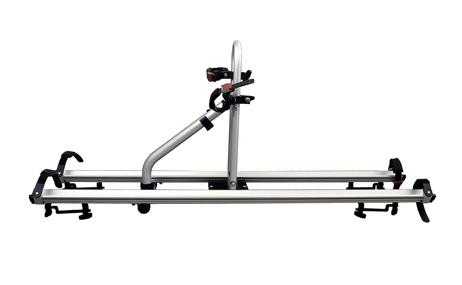 CyclingDeal Alloy Car Roof Bicycle Carrier Rack for 2 Bikes Max Load 66 lbs