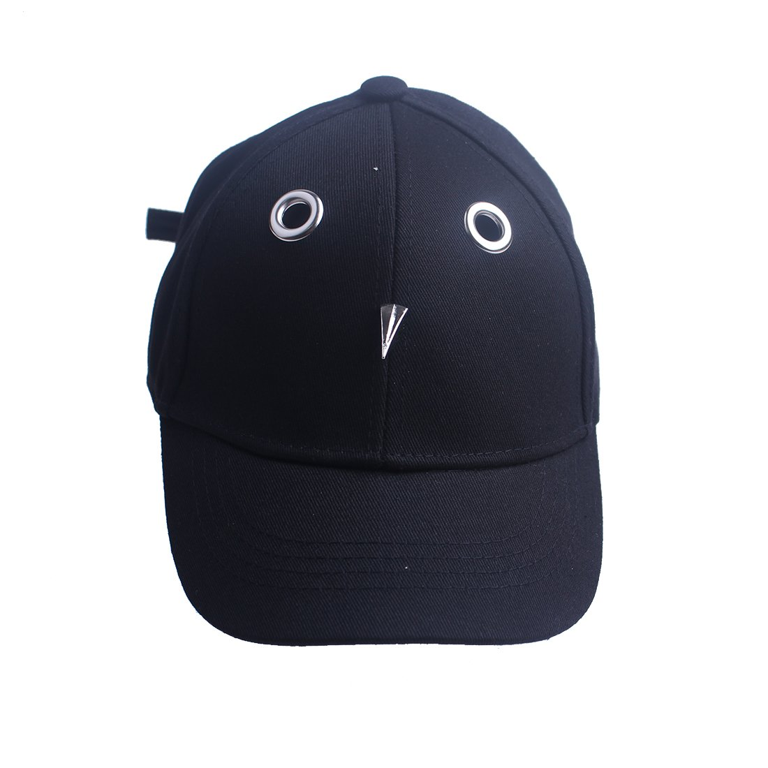 KimmyKu Fashion 3D Bird Style Black Baseball Cap Hat For Little Kids Childs Boy Girl (Black)