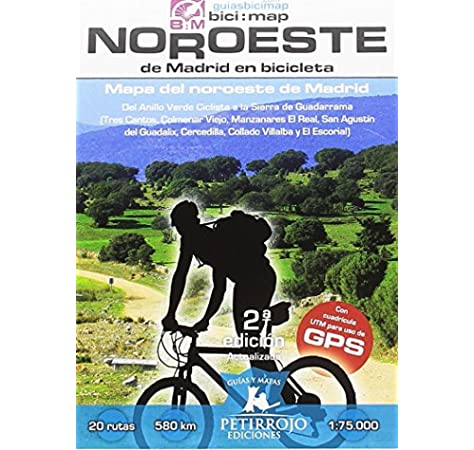 Noroeste de Madrid en bicicleta: Mapa del noroeste de Madrid: 21 Bici:map: Amazon.es: Datcharry Tournois, Bernard, Horvath Mardones, Valeria, Datcharry Tournois, Bernard, Horvath Mardones, Valeria: Libros
