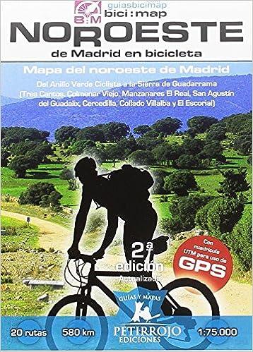 Noroeste de Madrid en bicicleta: Mapa del noroeste de Madrid: 21 ...