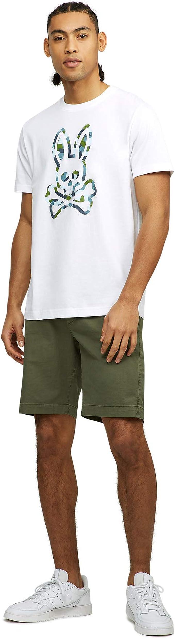 Mens Psycho Bunny Victory Short Sleeve Logo Branded T-Shirt In Navy SS 20