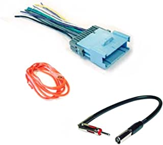 amazon com asc audio car stereo wire harness and antenna adapter to rh amazon com