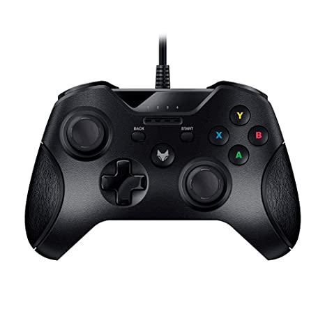Gamepad vibration Controller Wired USB for Microsoft Xbox 360 Console PC Laptop Computer (Black): Amazon.es: Videojuegos