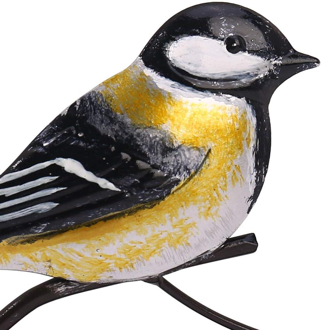 Tooarts Oiseau Porte Serviettes de Table Range-Serviettes de Table D/écoration de Table Distributeur de Papier en Fer pour Table /à Manger