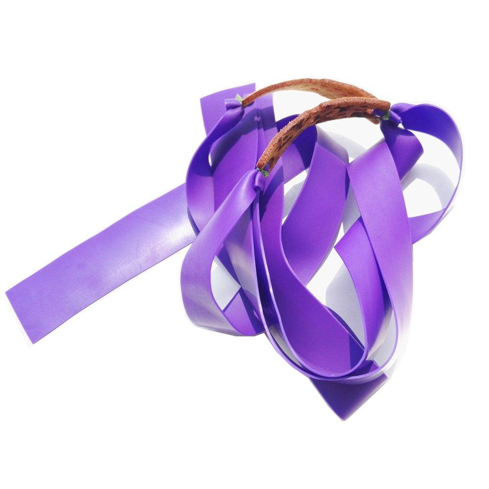 ZSHJG 5pcs Fasce Elastiche di Gomma per Fionda Fasce Elastiche Cinturino Elastico in Lattice Slingshot Bande Tirato Piatto Fasce Potenti per Fionda Blu