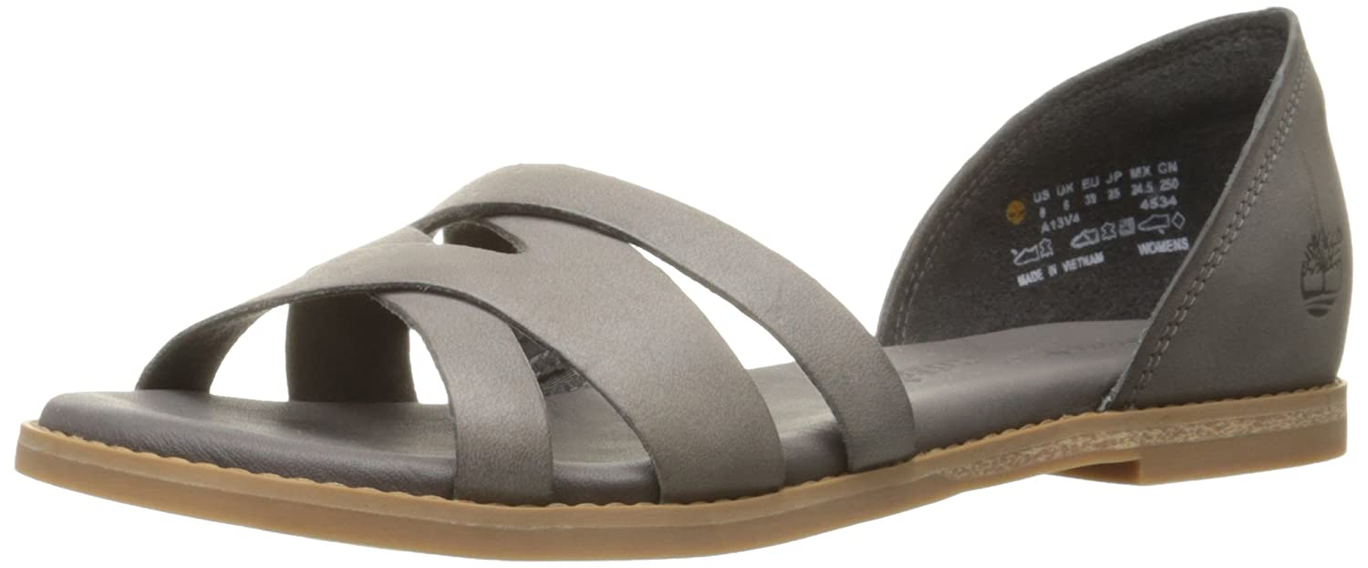cc3cf6e460 Amazon.com | Timberland Women's Caswell Closed Back Fisherman Sandal, Dark  Grey Antique, 6.5 M US | Sandals