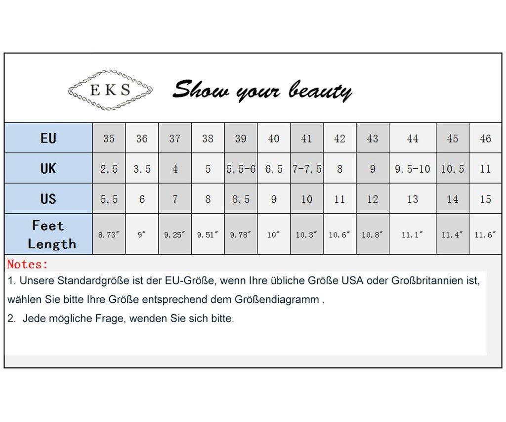 EKS Damen Spitz High Heels Kleid-Partei Pumps Pumps Kleid-Partei Blau-wildleder f15338
