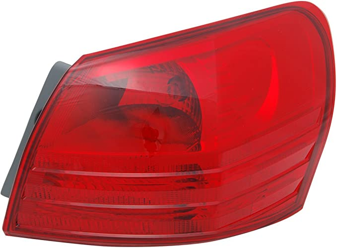 TYC 11-6336-00-9 Nissan Rogue Left Replacement Tail Lamp