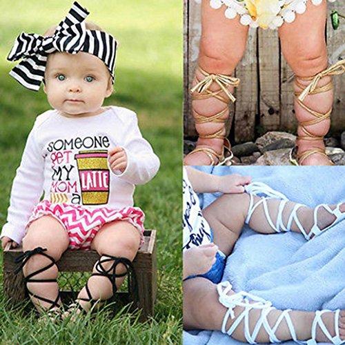 MuSheng Krabbelschuhe Babyschuhe Weiche Sohle Kleinkind Hausschuhe Sandalen für Mädchen Blau