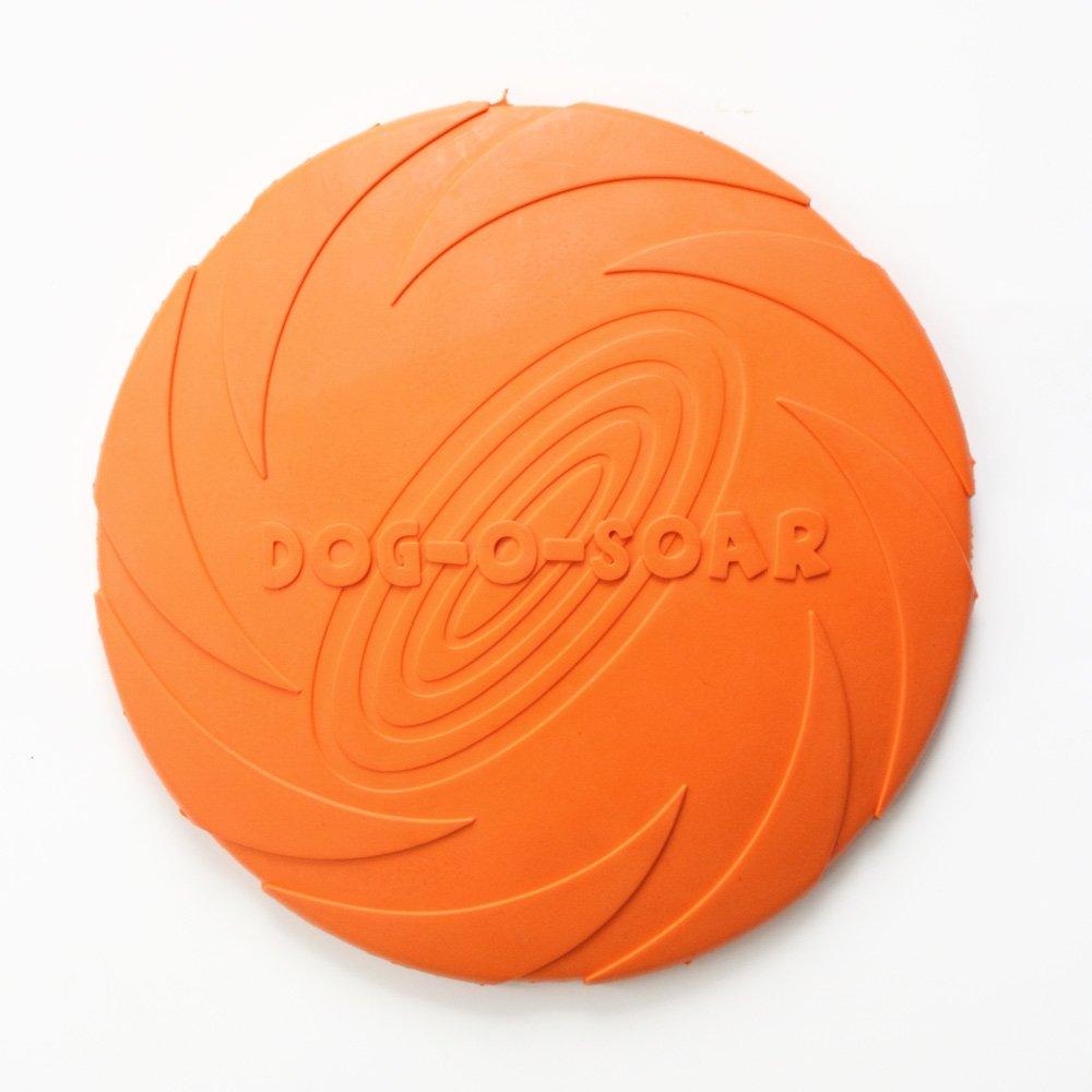 Suave Armadistore de Caucho Natural Disco Volador para Perro flotable Plegable