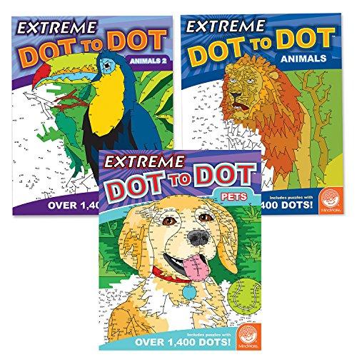 MindWare Extreme Dot to Dot: Animal Favorites Set of 3]()