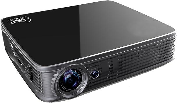 GT918 Doble WiFi DLP 3D Proyector Portable 1280x800 ...
