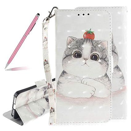 Mode Gemalt Süße Katze Blume Muster Design: Amazon.de: Elektronik