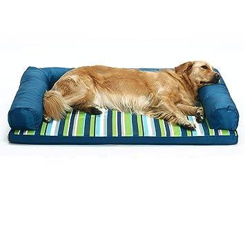 HYXI-Camas Alfombra para Dormir para Mascotas Oxford Tela Resistente a mordiscos para atrapar esterillas