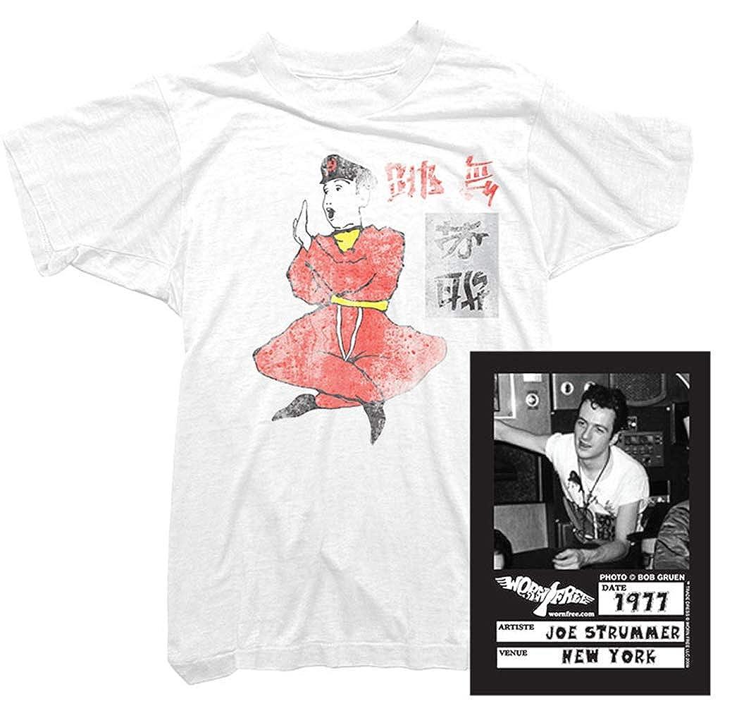 Joe Strummer T-Shirt Friend Foe Tee Worn Joe Strummer