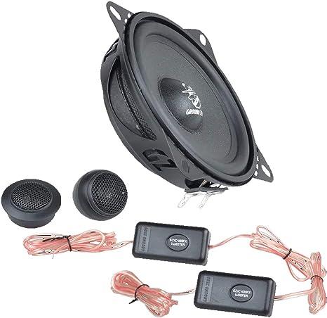 Ground Zero Audio Gzic 400fx 10cm Lautsprecher System Flach Navigation