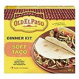 Old El Paso Soft Taco Dinner Kit, 12-Count, 400 Gram
