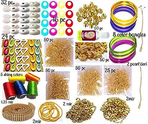 6525626d36 Silk Thread Jewelry Making Kit