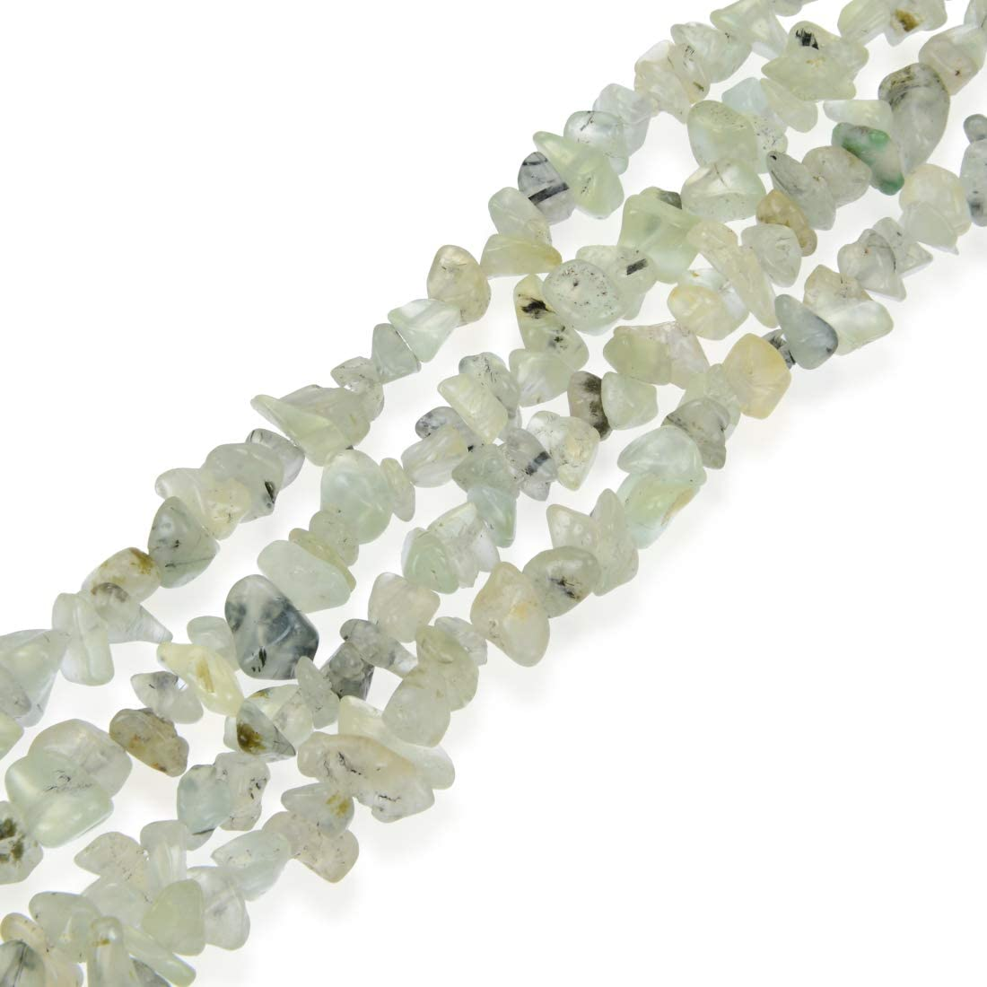 Genuine Natural Rock Crystal Quartz Rectangular Shaped Beads Gemstones 4-8mm 12pcs