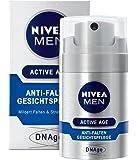 Nivea Men, Crema idratante antirughe DNAge, 1 x 50 ml