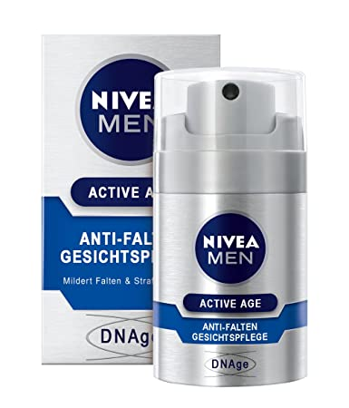 low cost special section newest Nivea Men, Crema idratante antirughe DNAge, 1 x 50 ml